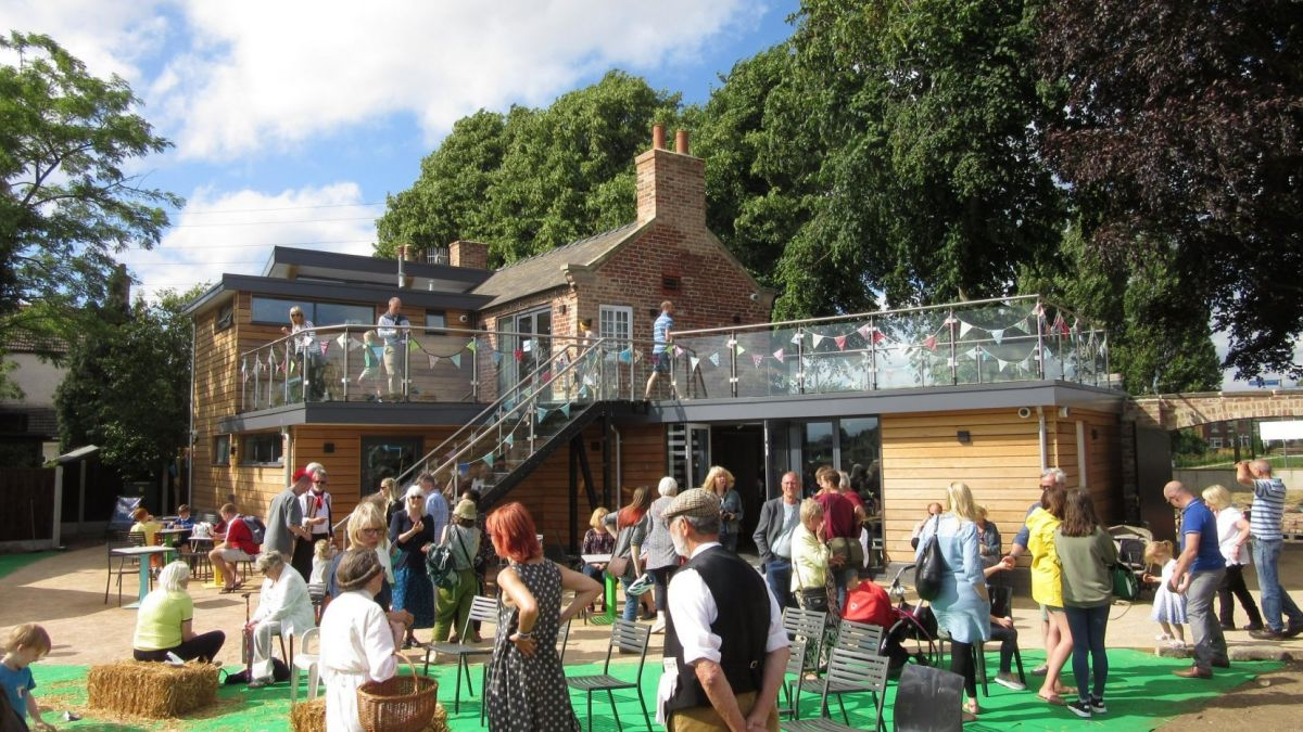Canalside Heritage Centre Opening